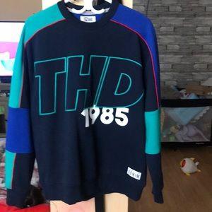 Tomy hilfiger colorblock sweatshirt like jersey